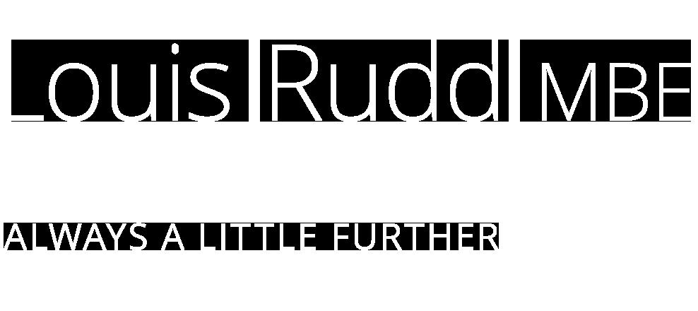 Louis Rudd MBE logo
