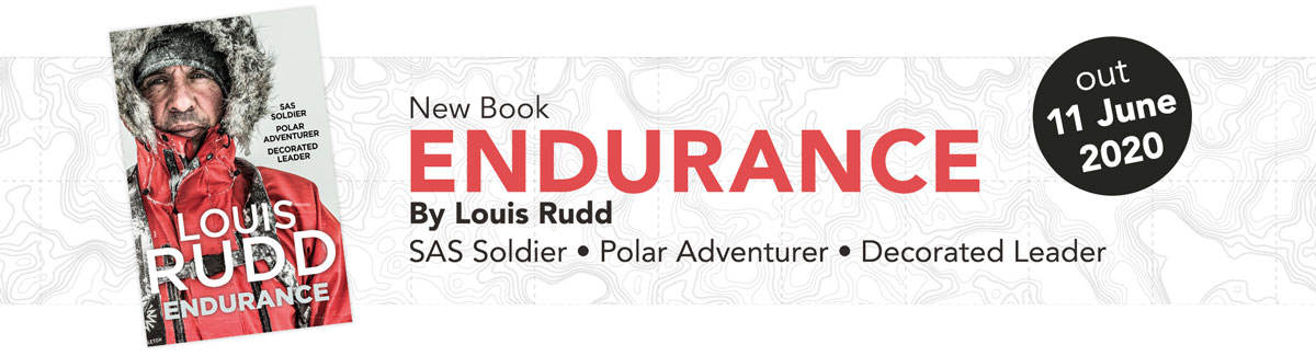 Louis Rudd – new book – Endurance, out 11 June 2020